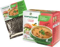 """Крем-суп """"Камчатский"""" с горбушей и треской"""