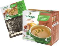 """Крем-суп """"Таёжный"""" с картофелем и грибами"""
